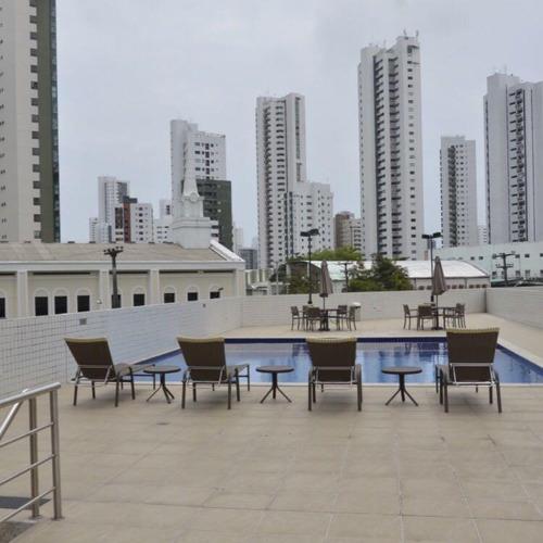 apartamento residencial à venda, boa viagem, recife. - ap1907