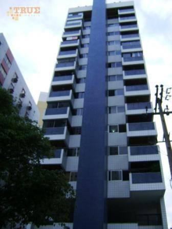 apartamento residencial à venda, boa viagem, recife. - ap2578