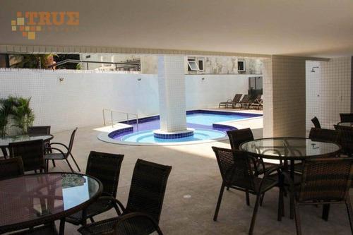 apartamento residencial à venda, boa viagem, recife. - ap2618