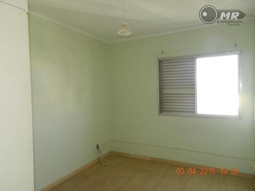 apartamento  residencial à venda, bonfim, campinas. - ap0631
