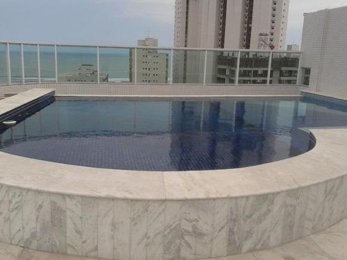 apartamento residencial à venda, boqueirão, praia grande. -