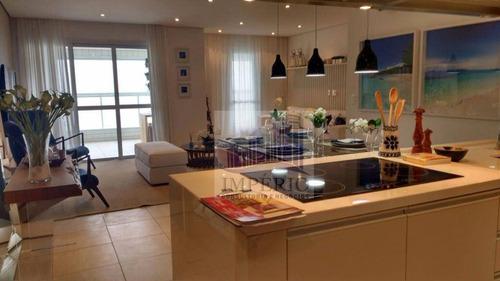 apartamento residencial à venda, boqueirão, praia grande. - ap0092