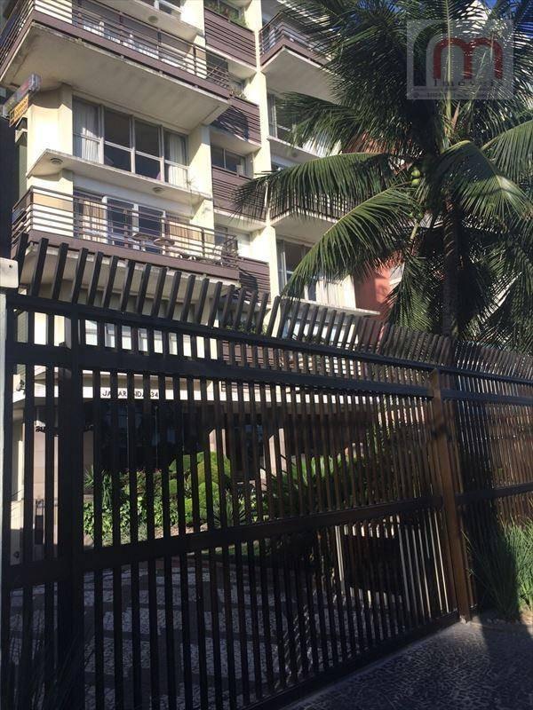 apartamento residencial à venda, boqueirão, santos - ap0672. - ap0672