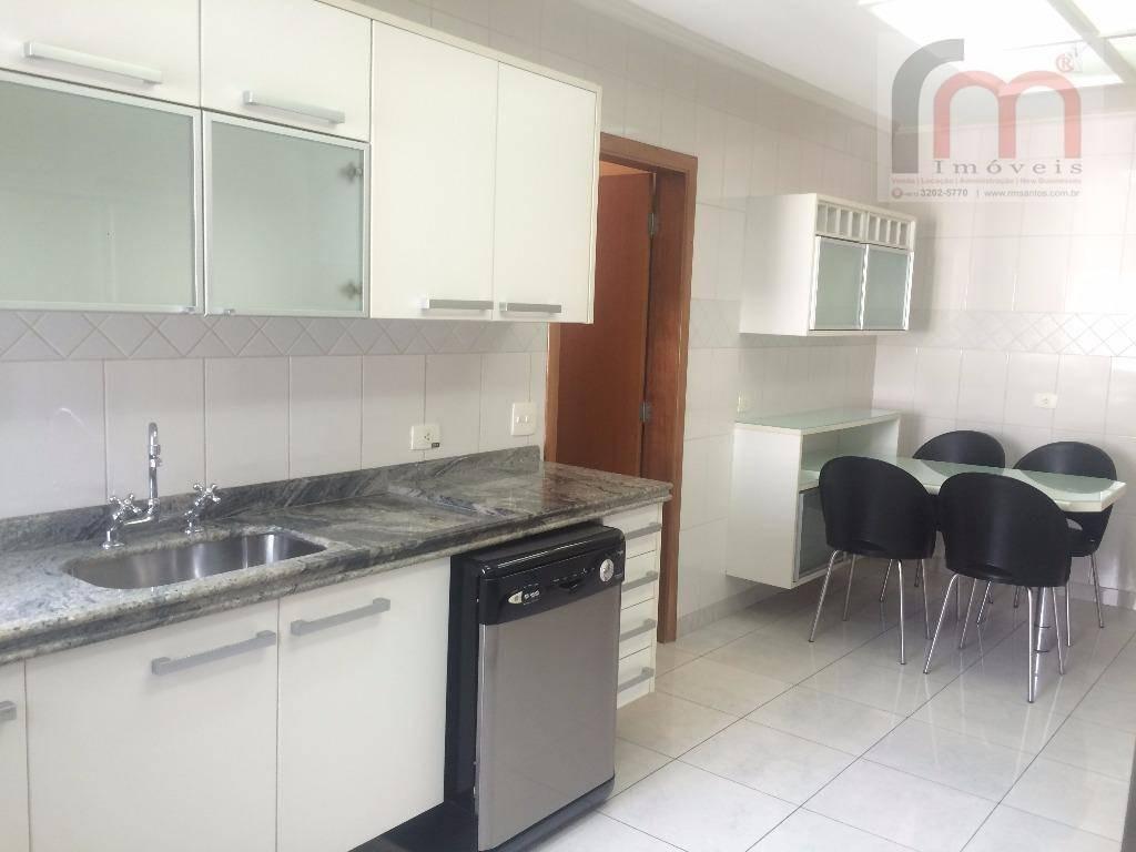 apartamento residencial à venda, boqueirão, santos - ap1028. - ap1028
