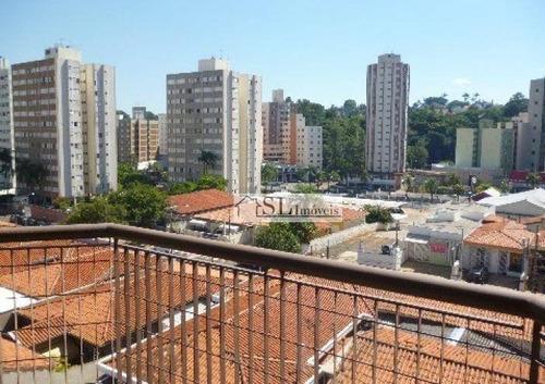 apartamento residencial à venda, bosque, campinas. - ap0168