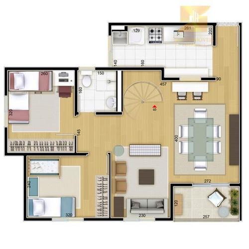 apartamento residencial à venda, bosque da saúde, são paulo. - codigo: ap2441 - ap2441