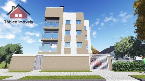apartamento residencial à venda, braga, são josé dos pinhais. - ap0104