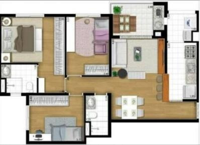 apartamento residencial à venda, brás, são paulo. - ap0418