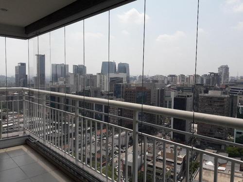 apartamento residencial à venda, brooklin paulista, são paulo. - ap0548