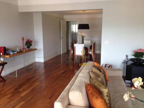 apartamento residencial à venda, brooklin paulista, são paulo. - ap5009