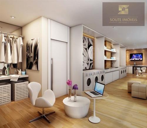 apartamento residencial à venda, brooklin paulista, são paulo. - codigo: ap2165 - ap2165