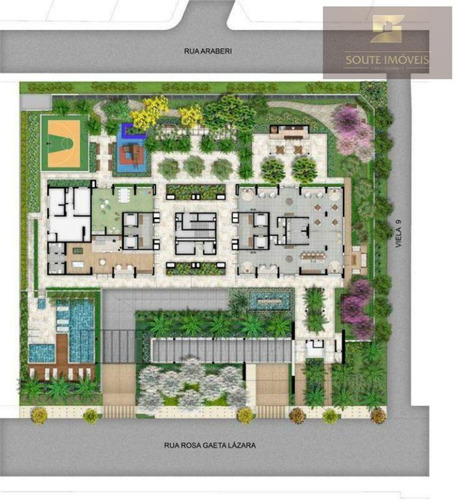 apartamento residencial à venda, brooklin paulista, são paulo. - codigo: ap2536 - ap2536