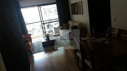 apartamento residencial à venda, brooklin, são paulo. - ap0030