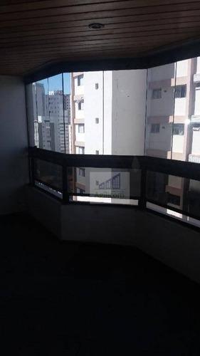 apartamento residencial à venda, brooklin, são paulo. - ap0031