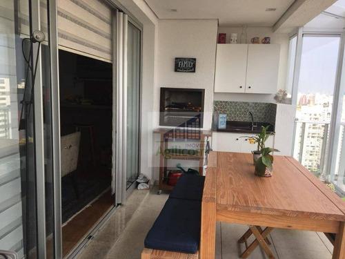 apartamento residencial à venda, brooklin, são paulo. - ap0065