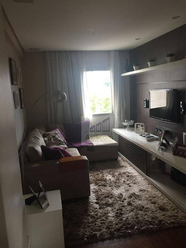 apartamento residencial à venda, brooklin, são paulo. - ap0068