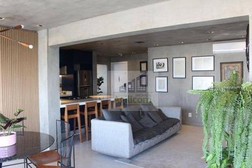 apartamento residencial à venda, brooklin, são paulo. - ap0076