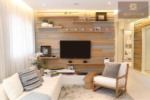 apartamento residencial à venda, brooklin, são paulo. - codigo: ap2090 - ap2090