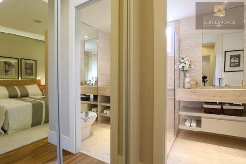 apartamento residencial à venda, brooklin, são paulo. - codigo: ap2112 - ap2112
