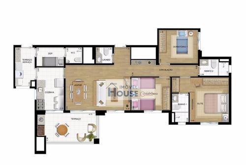 apartamento residencial à venda, butantã, são paulo. - ap0184