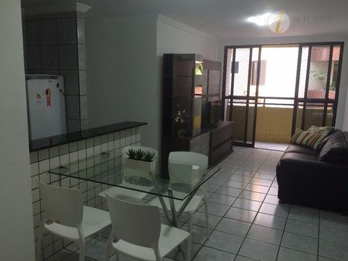 apartamento  residencial à venda, cabo branco, joão pessoa. - ap4384