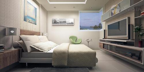 apartamento residencial à venda, cabo branco, joão pessoa - ap4969. - ap4969