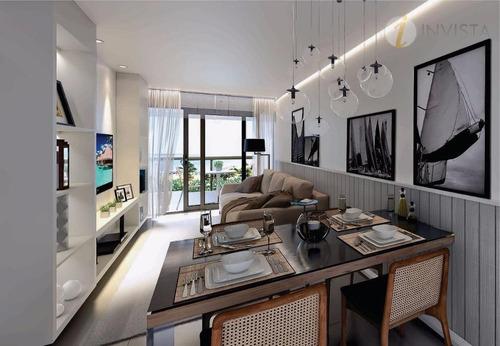 apartamento residencial à venda, cabo branco, joão pessoa. - ap5081