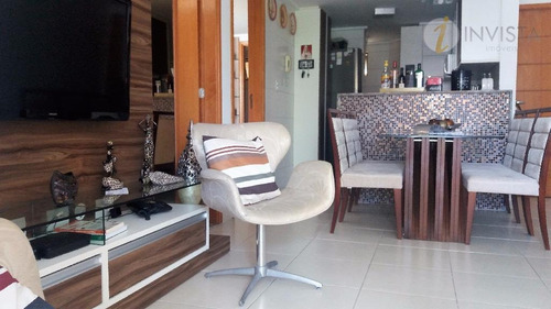 apartamento residencial à venda, cabo branco, joão pessoa - ap5268. - ap5268