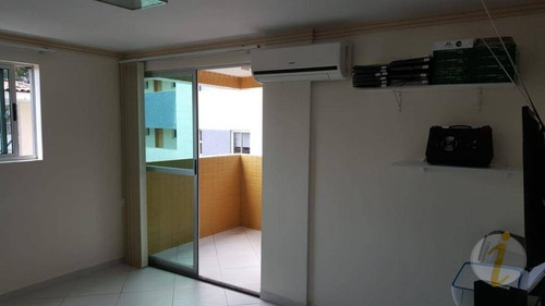 apartamento residencial à venda, cabo branco, joão pessoa. - ap6275