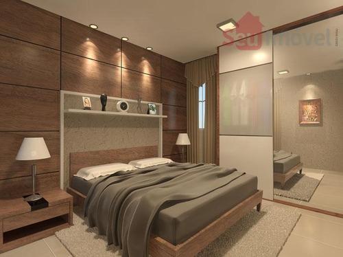 apartamento  residencial à venda, cajazeiras, fortaleza. - ap0452