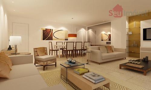 apartamento  residencial à venda, cambeba, fortaleza. - ap0174