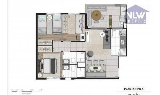 apartamento residencial à venda, cambuci, são paulo. - ap0559