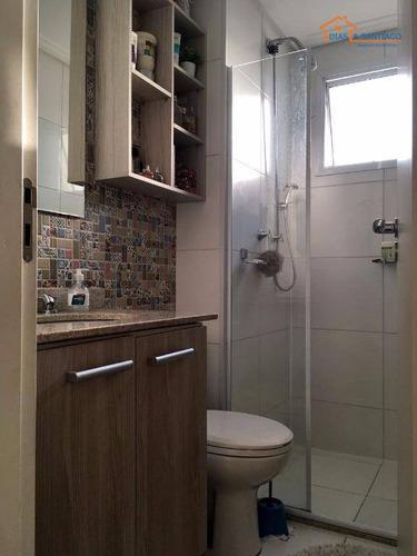 apartamento residencial à venda, cambuci, são paulo. - ap1641