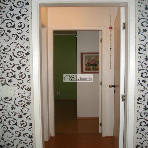 apartamento residencial à venda, cambuí, campinas. - ap0006