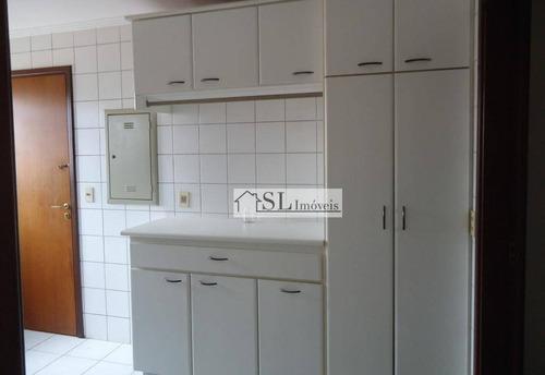 apartamento  residencial à venda, cambuí, campinas. - ap0297