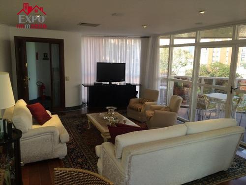 apartamento residencial à venda, cambuí, campinas. - ap0332