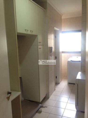 apartamento residencial à venda, cambuí, campinas. - ap0399