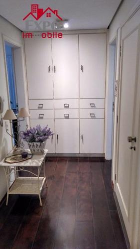 apartamento residencial à venda, cambuí, campinas. - ap0448