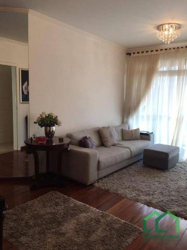 apartamento residencial à venda, cambuí, campinas. - ap0670