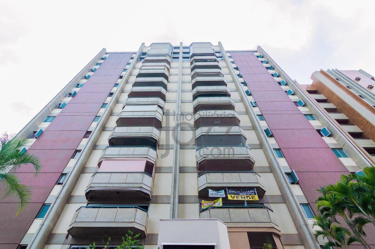 apartamento residencial à venda, cambuí, campinas. - ap1305