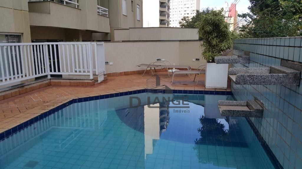 apartamento residencial à venda, cambuí, campinas. - ap17230