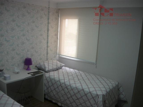 apartamento residencial à venda, campestre, santo andré. - ap0092