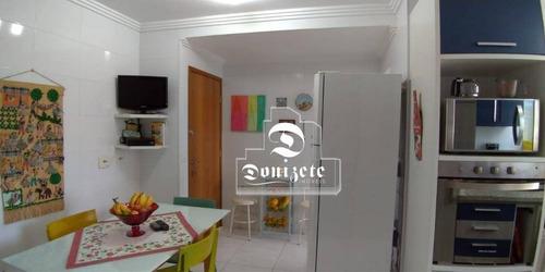 apartamento residencial à venda, campestre, santo andré. - ap0728