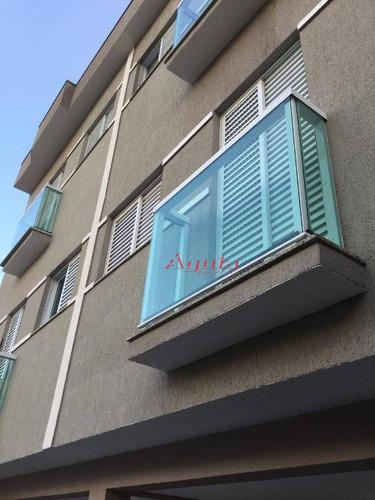 apartamento residencial à venda, campestre, santo andré. - ap1244