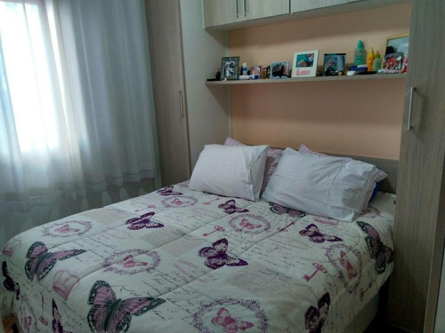 apartamento residencial à venda, campestre, santo andré. - ap1691