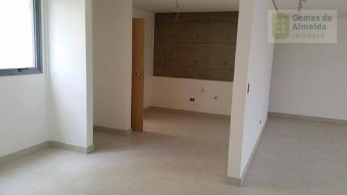 apartamento residencial à venda, campestre, santo andré - ap2022. - ap2022