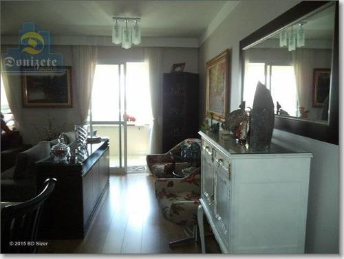 apartamento residencial à venda, campestre, santo andré. - ap4323