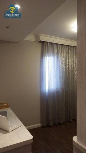 apartamento residencial à venda, campestre, santo andré. - ap5401