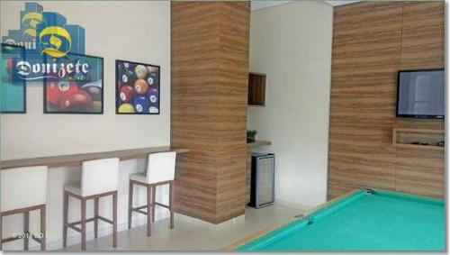 apartamento residencial à venda, campestre, santo andré. - ap5402