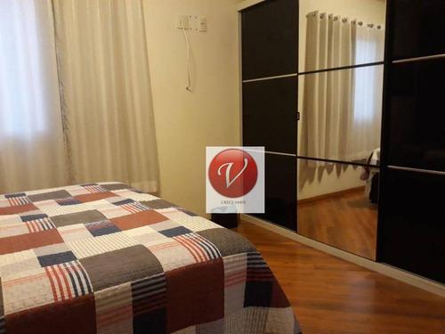 apartamento residencial à venda, campestre, santo andré. - ap8613